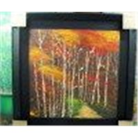 Landscape painting with picture frame(L-1001)