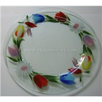 Fusion glass plates