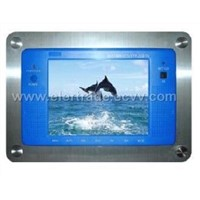 8 inch waterproof TFT-LCD TV (with touch screen )