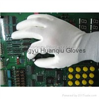 13g Nylon PU Palm Gloves