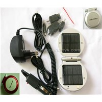 Emergency solar charger for mobile