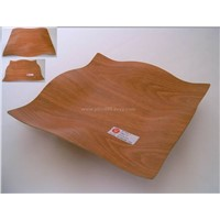 non-slip  wooden tray