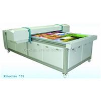 Solvent flatbed printer