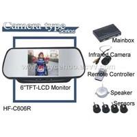 parking sensor w/rear view camera