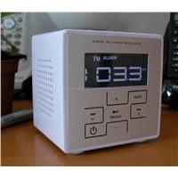 MP3 Alarm Clock with FM Radio