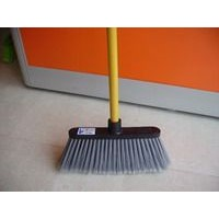 broom with wooden handle