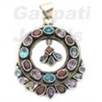 silver pendants jewelry