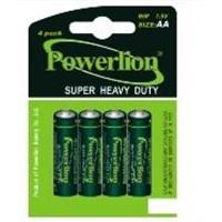 R6/AA Zinc Chloride Batteries