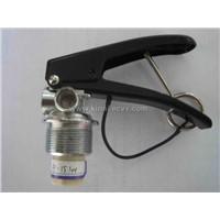 valve for powder fire extinguisher