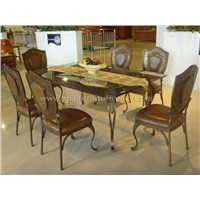 Dining table and chair(D031)