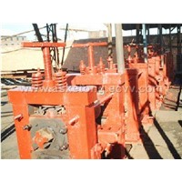 the steel rolling mill production line