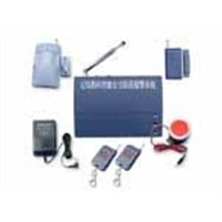 Economical type of wireless security alarm system