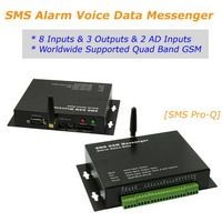 SMS Alarm Voice Data Messenger