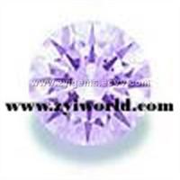 ZYI Gems CZ Machine Cut AAA or Hearts & Arrows