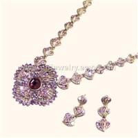 Imitation Diamond Necklace (GDSP-89)