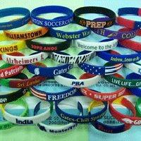 Promotional Gift -Silicone Bracelets