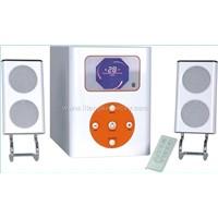 2.1powered speaker