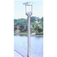 Solar Stainless Steel Lamp