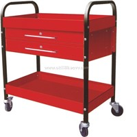 Two drawer spare parts trolley