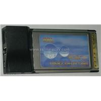 USB 2.0 & 1394 Firewire PCMCIA CardBus Combo card