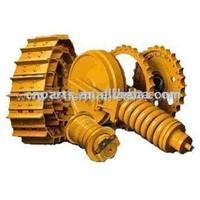Undercarriage, Carrier Roller, Sprocket, Idler