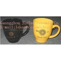 U Shape Ceramic Promotional Mug (GZJT)