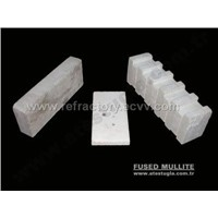 ELECTRO-FUSED REFRACTORY MATERIALS