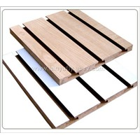 slotted board