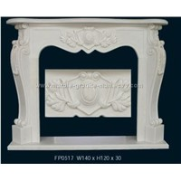 fireplace,fire surround,mantel,marble fireplace,granite fireplace