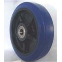 Blue Elastic Rubber Nylon Centre wheel