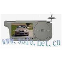 Car Sunvisor with DVD