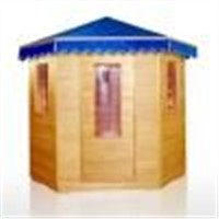 Foldable Infrared Sauna SQ-9700-H401C for one person