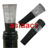 Stopper with Vacuum Pump