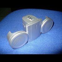 Folding Loudspeaker Radio