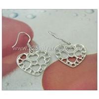 925 silver fashion earring