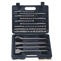 13pcs/set sds drill bit