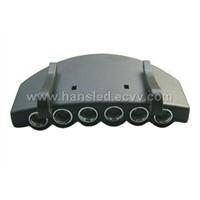 6LED clip-on headlight