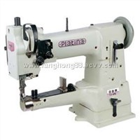 Cylinder-bed compound feed heavy duty sewing machine