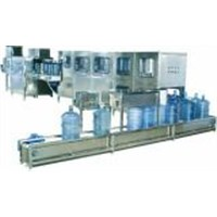 Automatic Water Washing, Filling, Apping, Bottling Machine (5 Gallon bottle Capacity 200BPH)