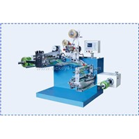 Auto-Placket Label Machine for Film Packing