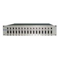 Manageable Rack Mount Media Converter (gwt2u-16)