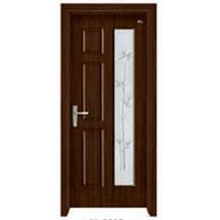 PVC Wood Door (JK-3025)