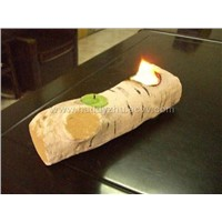 candle log for indoor fireplace