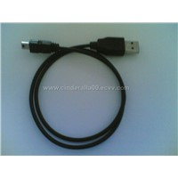 Black USB Cable