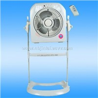 Rechargeable Fan with Emergency Light