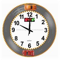 Car racing clock