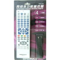 Internet Powered Universal Remote Control