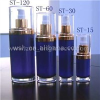 Oval Acrylic Lotion Bottle