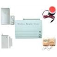 Wireless intelligent burglar alarm system