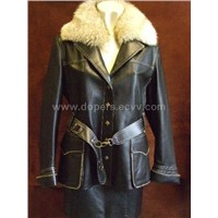 Sell Leather Garment (Leather Jacket) Woman
